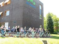 VVN en Gazelle testen de fiets met SafeDrivePod SafeDrivePod schakelt mobieltje onderweg uit